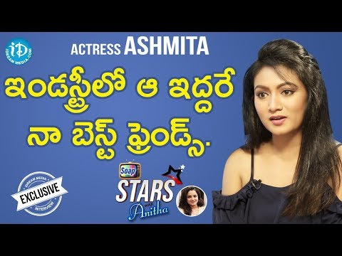 Actress Ashmita Exclusive Interview || Soap Stars With Anita #9