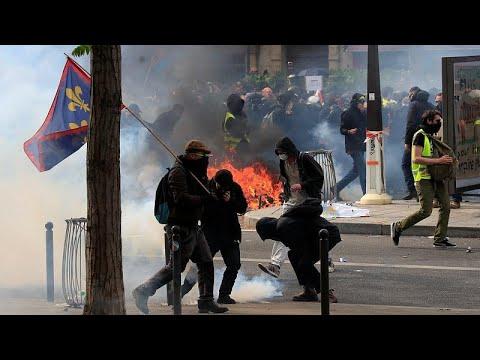 Παρίσι: Απόδοση ευθυνών για τα επεισόδια ανήμερα της Πρωτομαγιάς…