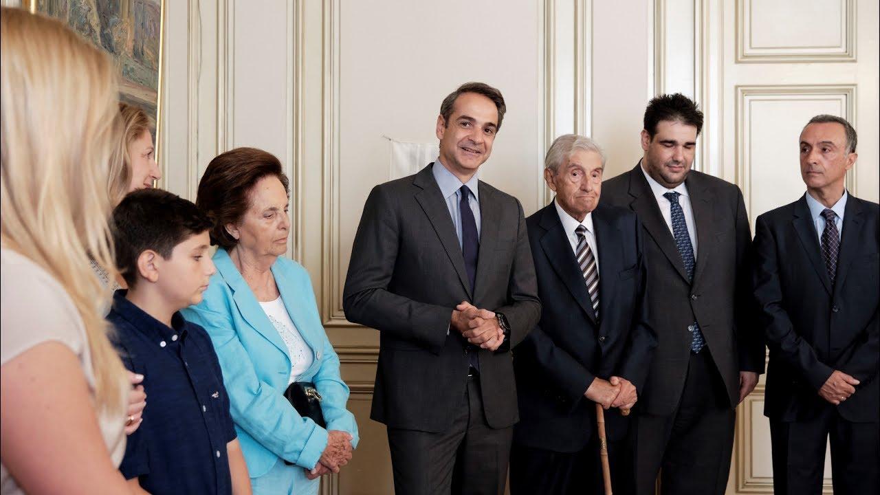 Ομιλία του Πρωθυπουργού Κ. Μητσοτάκη στην τελετή ονοματοδοσίας της αίθουσας «Δημήτρης Στεφάνου»
