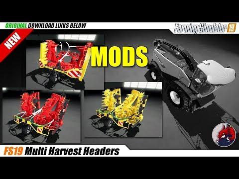 Multi Harvest Headers v1.0.0.0