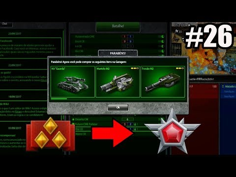 Tanki Online Road To Legend (sem comprar cristal #26) Rank Up