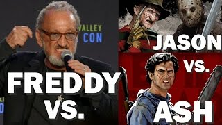 ROBERT ENGLUND says FREDDY VS. JASON VS. ASH  MOVIE ALMOST MADE! Silicon Valley Comic Con 2017 Panel