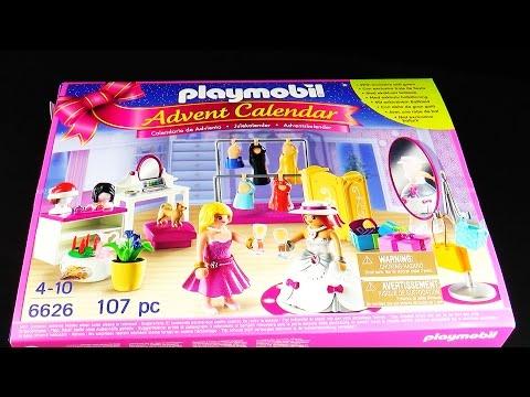 Playmobil 6626 Christmas : Calendrier de l'Avent 'Loge d'artiste'