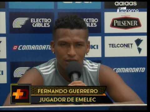 Emelec se alista para juego con Flamengo por Copa Libertadores