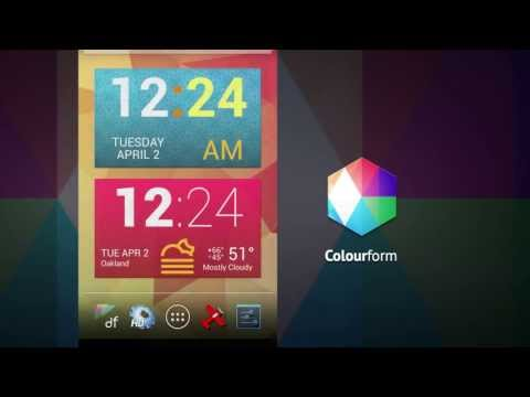 Video of Colourform XP (for HD Widgets)