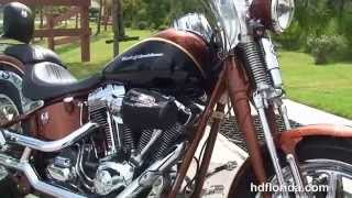 6. Used 2008 Harley Davidson FXSTSSE CVO Springer Motorcycles for sale