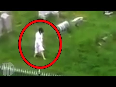 10 REAL GHOSTS CAUGHT ON TAPE