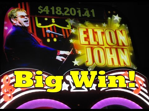Vegas 2015!  Elton John!  Big Win!