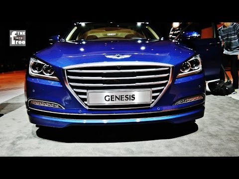 WATCH: A Look Around The New 2015 Hyundai Genesis Sedan