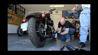 9. removing baffles from a sportster