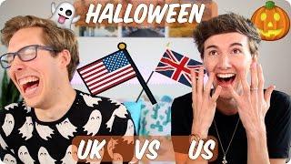 Halloween! British VS American | Evan Edinger & Mark Ferris