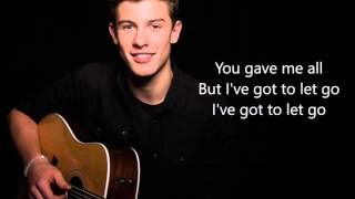 Video Shawn Mendes - Memories - LYRICS MP3, 3GP, MP4, WEBM, AVI, FLV Agustus 2018