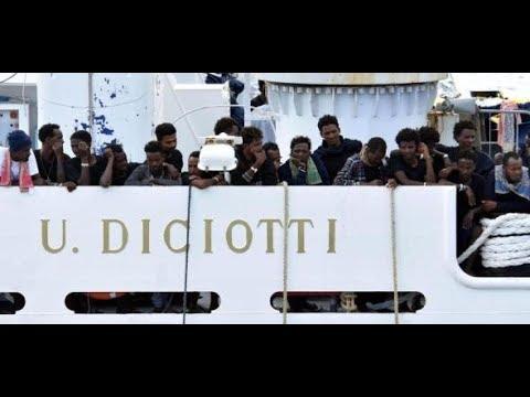 "Rom: Polizei nimmt verschwundene Migranten der ""Di ..."