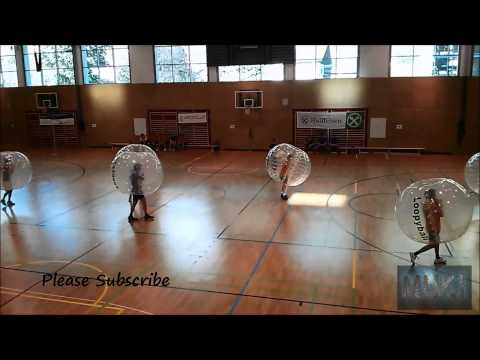 Watch: Bubble Football is a Thing