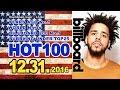 全米ビルボードチャート Billboard HOT100+Bubbling Under25:12/31/2016