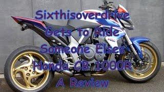 9. Honda CB 1000R Review With 6IOD
