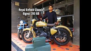 6. New Royal Enfield Classic 350 ABS Signals Edition Walkaround review in Hindi#BPC 1.62lacs