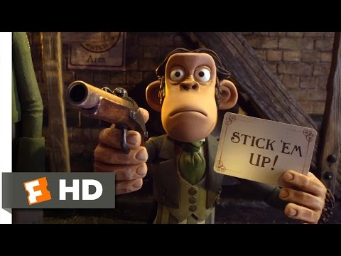 The Pirates! Band of Misfits (6/10) Movie CLIP - Stick 'Em Up (2012) HD