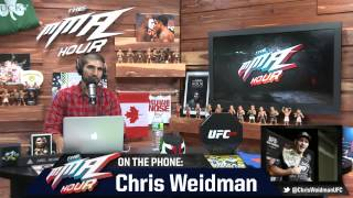 anderson silva UFC 162: Chris Weidman Says He'd Beat Anderson Silva Again