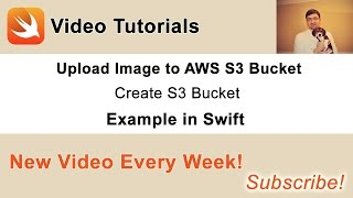 Source code and other videos you can find in this blog post of mine: http://swiftdeveloperblog.com/upload-image-to-aws-s3-bucket-in-swift/In this video we will create a new AWS S3 bucket into which we will later upload an image.