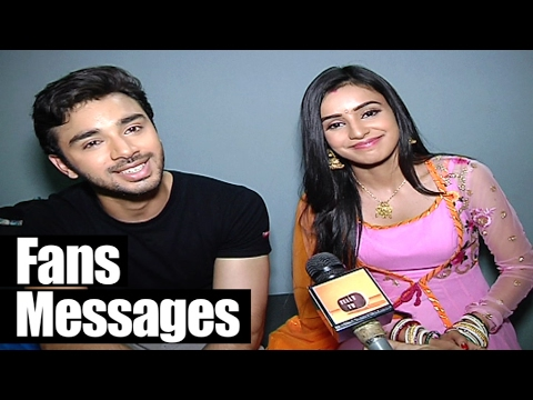 Samridh and Ankita get some MESSAGES from Fans