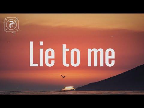 Tate McRae - lie to me (Lyrics) FT. Ali Gatie