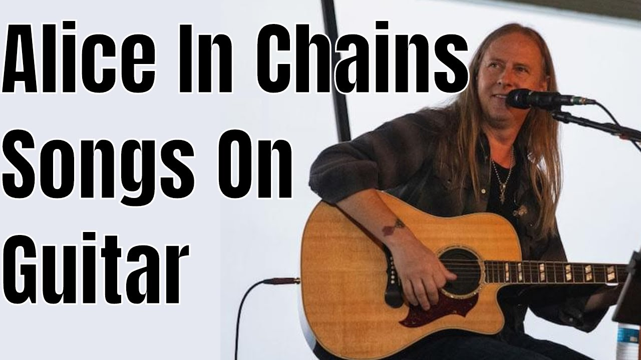 "Alice In Chains Acoustic Guitar Lesson ""Rooster"" & ""No Excuses"" (Easy Barre Chord Songs)"