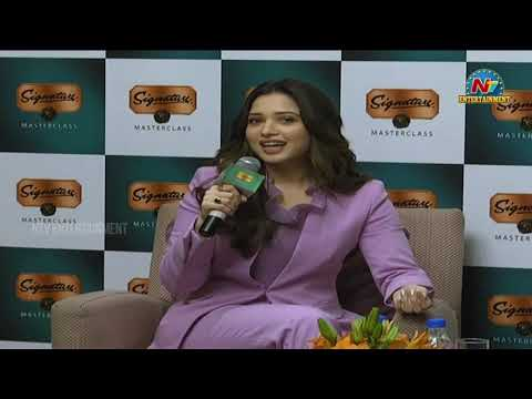 Actress Tamanna Superb Answers To Media Questions