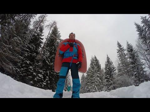Lawinenrucksack Auslösung & richtig Falten - ABS Rucksack Powder 8