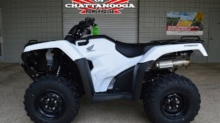 9. 2016 Rancher 420 AT / DCT / IRS ATV Review of Specs - Honda of Chattanooga - TRX420FA5G