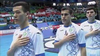 Video UZBEKISTAN vs THAILAND: AFC Futsal Championship 2016 (Semi Finals) MP3, 3GP, MP4, WEBM, AVI, FLV Mei 2017