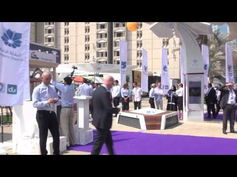 Smart Palm visited by H.H. Sheikh Hamdan bin Mohammed bin Rashid Al Maktoum