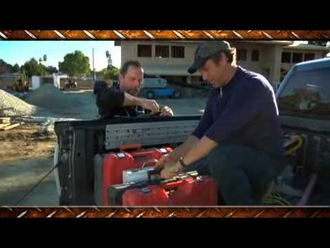 Screen capture of Mike Rowe Installs Track Lock