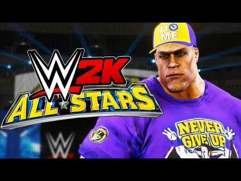 WWE ALL STARS meets WWE 2K?!!