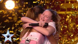 Ten-year-old Giorgia gets Alesha's GOLDEN BUZZER with MIND-BLOWING vocals! | Auditions | BGT 2019