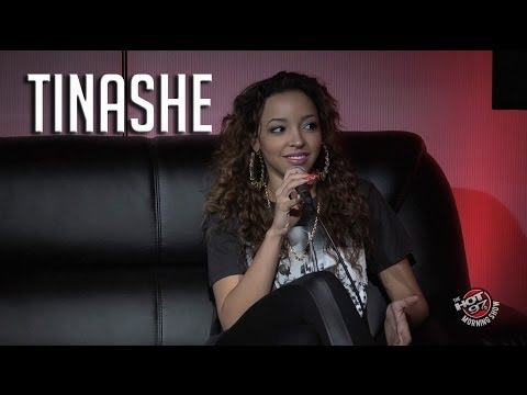 Tinashe talks about origins of her name + says her name isn't Tanisha!