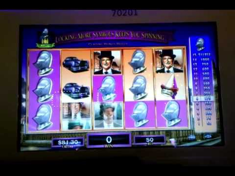 Beverly Hillbillies slot machine, running video and bonus round, Venetian Las Vegas, Dec 2012