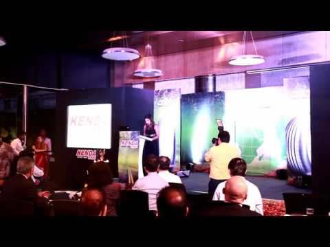 Anchor Bhawna Dixit hosting for Kenda Tyres