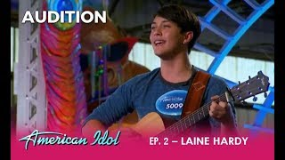 Video Laine Hardy: A Young Country Singer That Will CAPTURE Your Heart | American Idol 2018 MP3, 3GP, MP4, WEBM, AVI, FLV Juni 2018