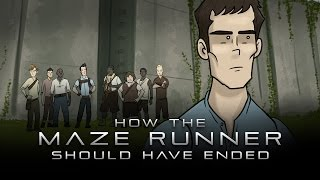 Thomas questions Newt a little more about their efforts to escape the maze. HISHE