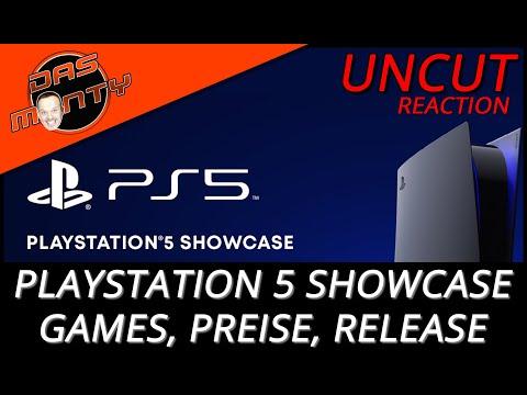 Playstation 5 Showcase Reaction - Neue Games, Preise und Releasetermin der PS5 | DasMonty