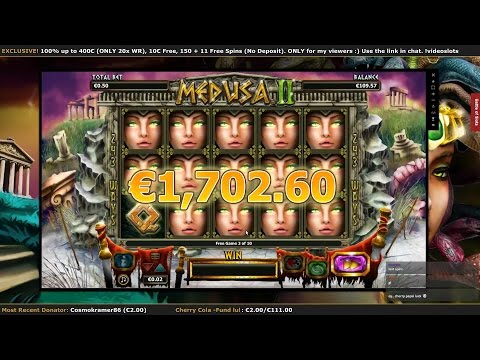 ★ Medusa II ★ HUGE Jackpot LIVE On Stream !!