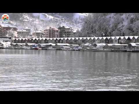 Arhavi'de Eşsiz Kar Manzaraları