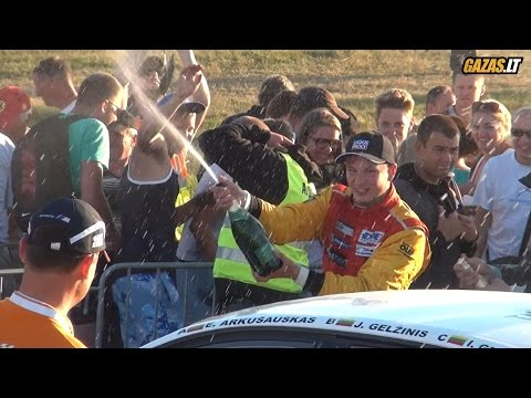 Emotions after 1000 km race finish in Palanga 2014