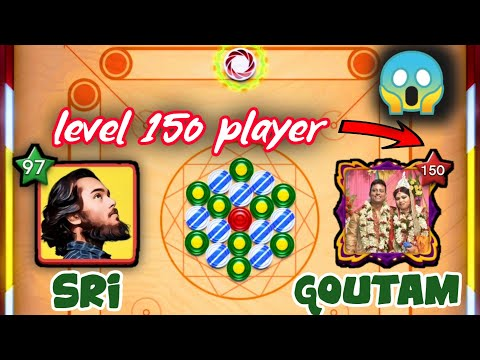 ✨ Sri VS Goutam ✨150 level player OMG 😱 / must watch✅ / Carrom pool♥️