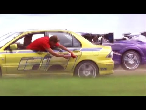 2 FAST 2 FURIOUS - Money Run part 1 (Evo & Eclipse vs Police) #1080HD HD