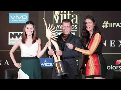 Salman Khan Katrina Kaif Alia Bhatt At IIFA Awards 2017 Press Conference