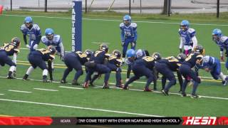 NCAFA 2K16 - PEEWEE - A Cup Semi - Final Warriors VS Panthers