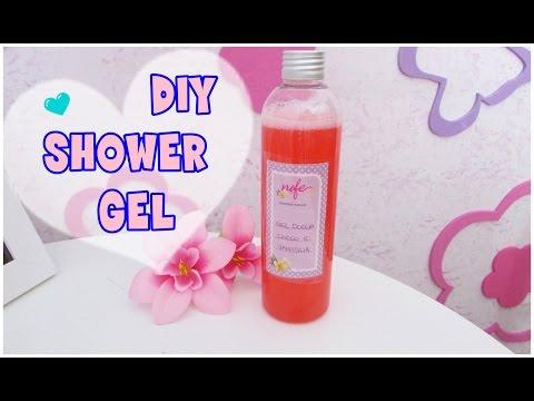 Gel Doccia  FAI DA TE Cocco e vaniglia!! DIY shower gel