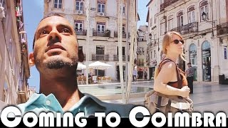 Coimbra Portugal  city photos gallery : COMING TO COIMBRA - MOVING TO PORTUGAL DAILY VLOG (ADITL EP343)